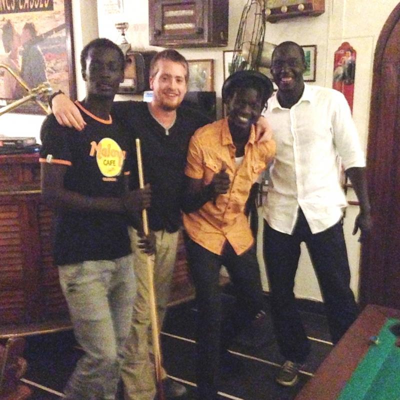 Jack A in Senegal